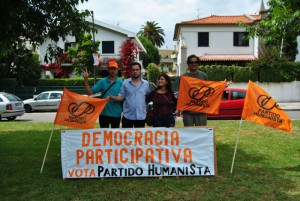 Alguns candidatos em campanha no Porto